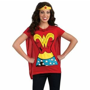 DC Comics Wonder Woman T Shirt with Cape